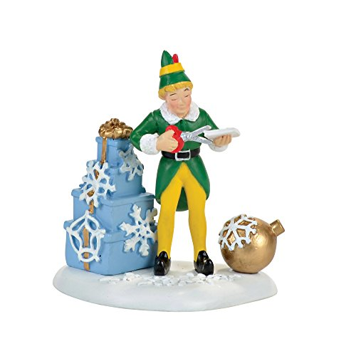 Village Elf (Department 56 Elf the Movie Village Buddy's Christmas Decorations Accessory Figurine)
