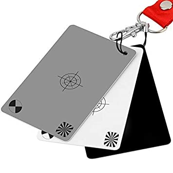 Amazon.com: Tarjetas de balance de blancos, incluye tarjeta ...