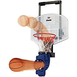 Franklin Sports Over The Door Mini Basketball Hoop With Rebounder and Automatic Ball Return