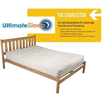 Amazon Com The Charleston Sustainable Wooden Bed Frame