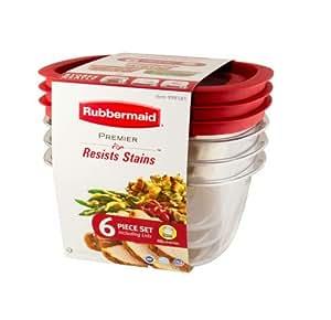 Amazon.com: Rubbermaid Premier Food Storage Container, 14