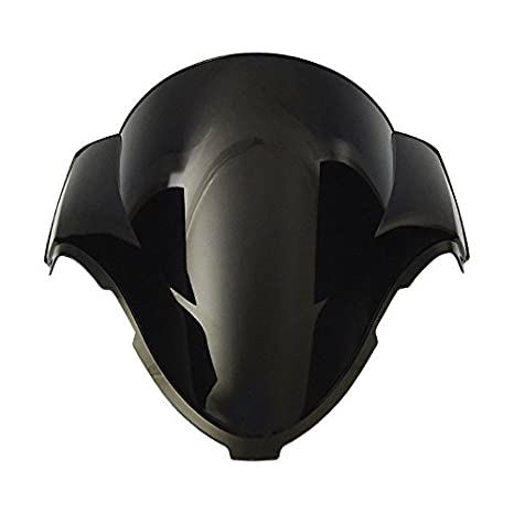 Smoke Black Double Bubble Windscreen Windshield for 1999-2007 Suzuki Hayabusa