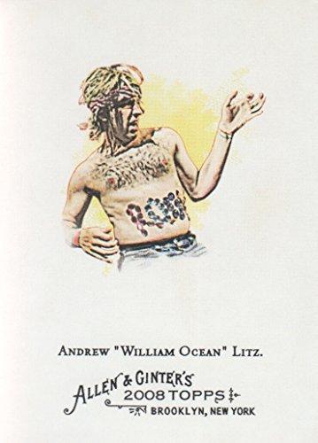 inter Baseball #283 Andrew Litz Air Guitar Champ (Champ Guitar)