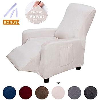 Amazon Com Acomopack Sofa Cover For Recliner Velvet