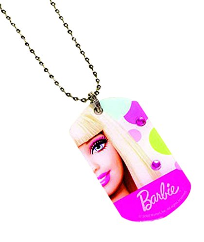 Dog Tag Necklace | Barbie Collection | Party Accessory