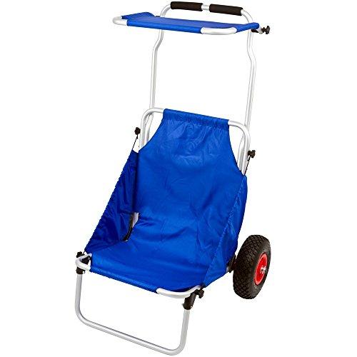 Rage Powersports BFC Blue Folding Beach Fishing Chair Cart