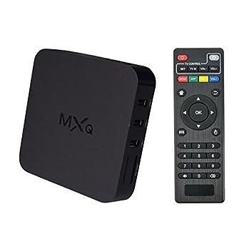 MXQ Android 4 2 TV BOX Amlogic S805 Chipest 1G8G 1080P HDMI Wierless