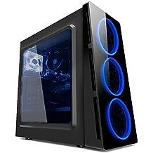 PC G-FIRE AMD A10 9700 8GB 1TB Radeon R7 2GB integrada Computador Gamer HTG-238
