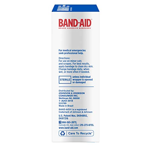 Band-Aid Brand Tru-Stay Sheer Strips Adhesive Bandages for First Aid and Wound Care, All One Size, 40 ct by Band-Aid (Image #6)