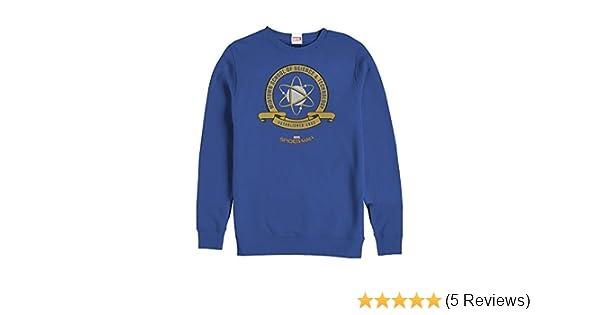 Amazon.com  Marvel Men s Spider-Man Homecoming Midtown School Crest  Sweatshirt Royal Blue  Clothing f5a780885b70