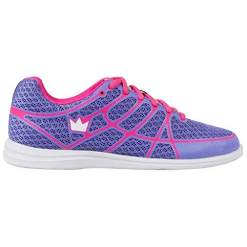 (Brunswick Aura Women's Bowling Shoes, Pink/Purple,)