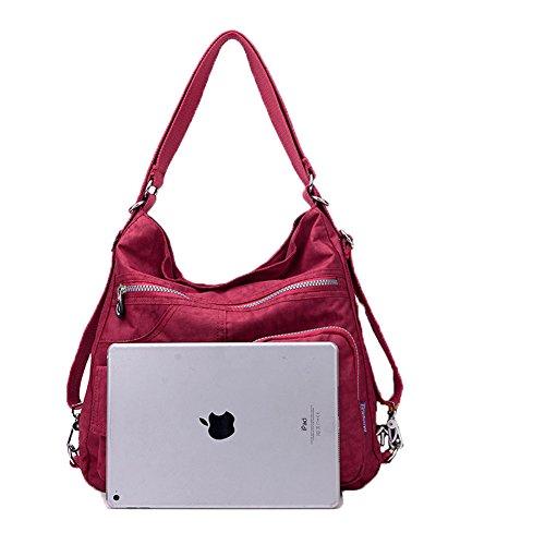 Handbags Bag Black Shoulder Shoulder Women Nylon Large Backpack Capacity Tote Bags KARRESLY Hobo Bags TO5x77H