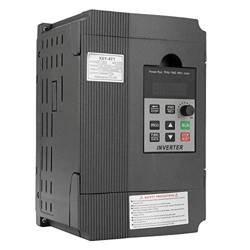 Roeam VFD Frequency Speed Controller, 2.2KW 12A 220V Motor Drive Single-Phase Input Three-Phase Output - - Phase Ac 3 Drive