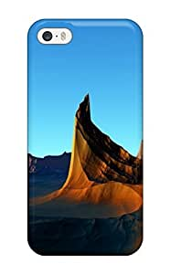 HermanLWilliams Scratch-free Phone Case For Iphone 5/5s- Retail Packaging - Cliffs On Strange Planet