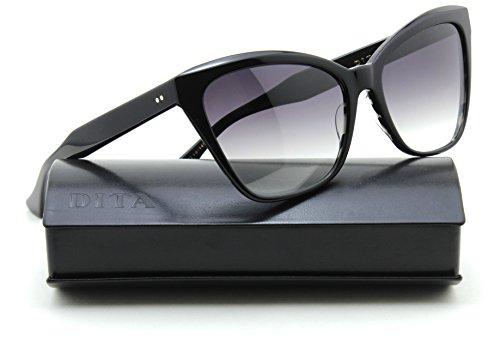 Dita SUPERSTITION Women Gradient Sunglasses Black 22030-A, - Eyewear Dita