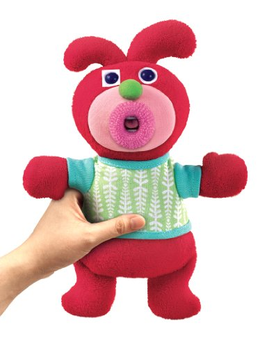 Fisher-Price-V1193-Mueco-de-peluche-con-msica-color-rojo