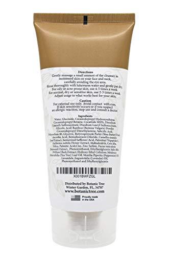 Botanic Tree Glycolic Acid Face Wash – Exfoliating Face Wash with 10% Glycolic Acid, AHA and Salicylic Acid for Acne…