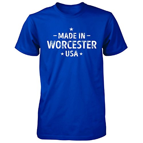 Made In Worcester County, Usa. Cool Gift - Unisex Tshirt Royal Adult 5XL (Halloween In Worcester)