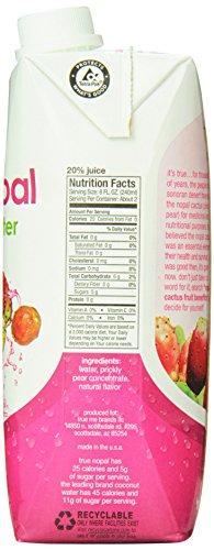 True Nopal Cactus Water, 16.90 Fl. Oz (Pack of 12): Amazon.com: Grocery & Gourmet Food