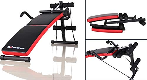 GaoMiTA Folding Multifunctional Supine Board Thickening and lengthening Fitness Equipment Home sit-ups and Abdominal Panels Abdominal Board by GaoMiTA (Image #3)