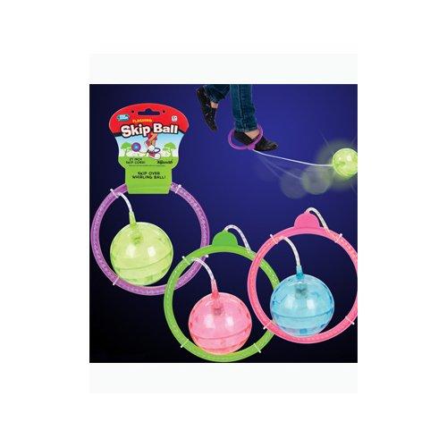 Toysmith Flashing Skip Ball (Lemon Twist)