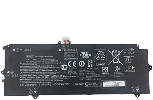 BOWEIRUI MG04XL (7.7V 40Wh 4820mAh) Laptop Battery Replacement for Hp Elite X2 1012 G1 Series MG04 HSTNN-DB7F 812060-2B1 812060-2C1 812205-001