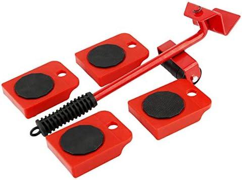 ChenCheng ムービング家具家具モバイル家庭用省力多機能大型ハンドリングツール水槽運搬具引抜き商品アーティファクト2色 household products (Color : Red)