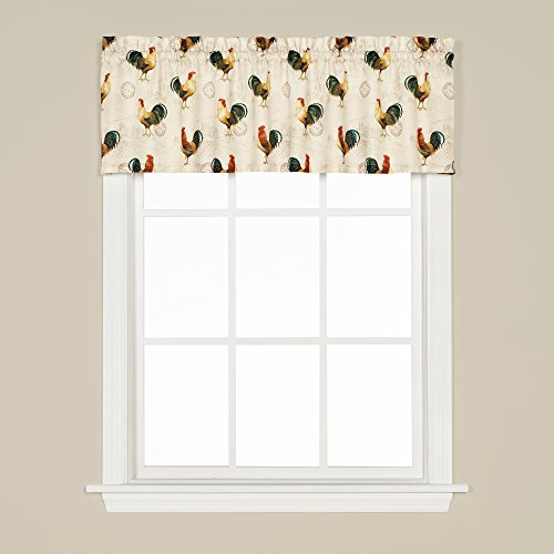 (SKL Home by Saturday Knight Ltd. Tuscan Morning Valance, Multicolored, 57 inches x 13 inches)