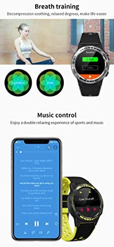 GPS Smart Watch for Android and iOS-Altimeter/Barometer /Compass,All-Day Heart Rate and Activity Fitness Tracker,Waterproof/Outdoor/Trail/Hiking Running Watch for Men/Women/Kids …