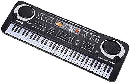 61 teclas electrónicas teclado de música orga eléctrico con ...