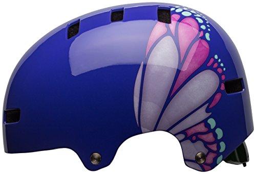 Bell Span Bike Helmet - Kid's Purple/Pink Glide Small