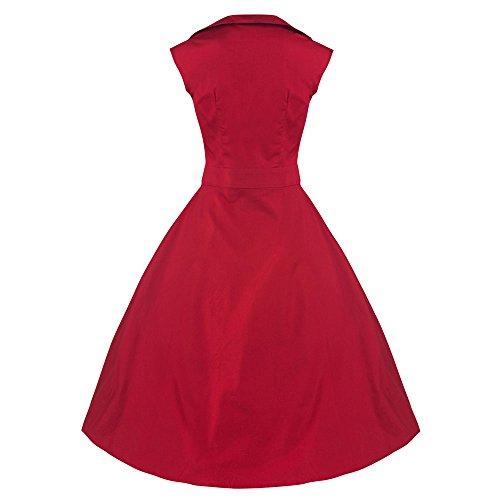 Pretty Kitty Fashion -  Vestito  - Basic - Senza maniche  - Donna