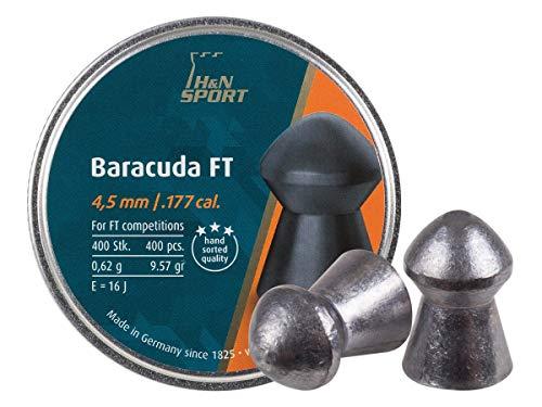 Haendler & Natermann H&N Baracuda FT .177 Cal, 4.50mm, 9.57 Grains, Round Nose, 400ct