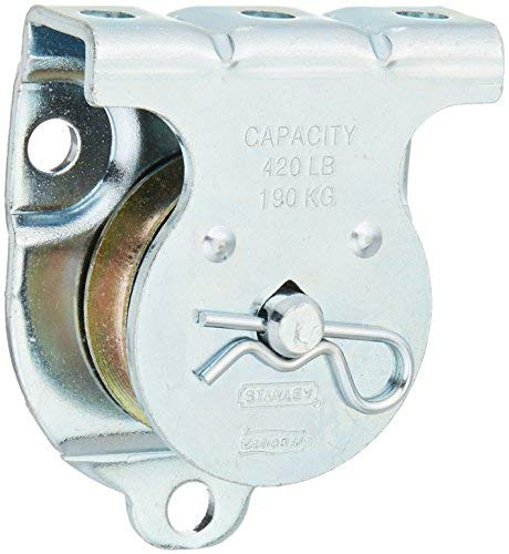 National #N233-247 1-1/2'' ZN Single Pulley by National Hardware