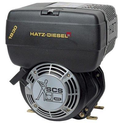 Hatz Diesel Engine with Electric Start - 4.6 HP, 3/4in. x 2 7/16in. Shaft, Model# 1B20X-9902
