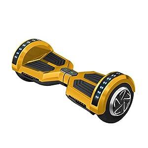 Freeman F12 - Patinete electrico de 250W con bateria Samsung con certificado UL2272, altavoz de 3W, ruedas de 8, color Dorado
