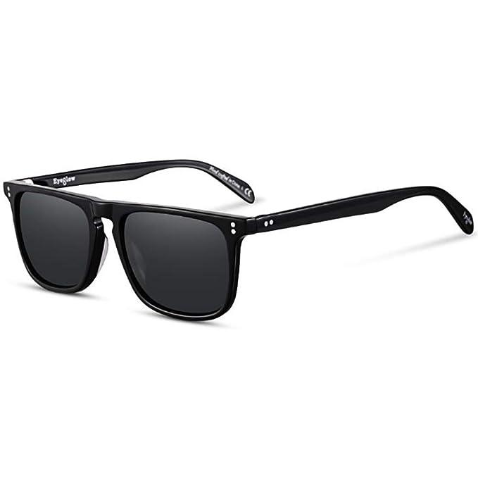 Amazon.com: Tony Stark - Gafas de sol cuadradas polarizadas ...