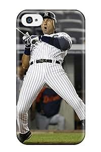 Cute Tpu ZippyDoritEduard Derek Jeter Baseball Case Cover For Iphone 4/4s hjbrhga1544