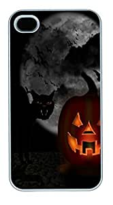 IPhone 4S Cases my halloween Polycarbonate Hard Case Back Cover for iPhone 4/4S White