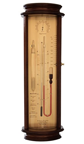 Tendency Barometer Admiral Fitzroy Storm Glass Hygrometer Historical Weather (Admiral Barometer)