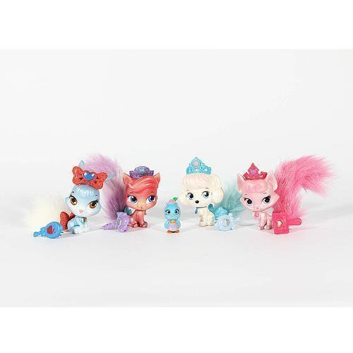 Disney Princess Palace Pets, Exclusive Whisker Haven [Dreamy, Pumpkin, Treasure, Berry, and Ms. Featherbon] by Disney