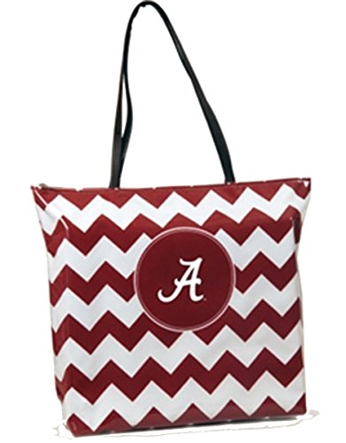 Alabama Crimson Tide - NCAA Chevron Shopper Tote by NCAA