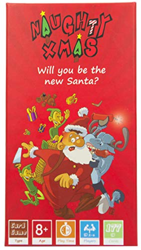 - Naughty Xmas - The Family Card Game! Will You be The New Santa? Crazy Fun and Competitive Card Game, Best for Kids, Ages 8 and Up, Teens, Adults & Friends.