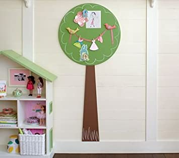 Amazon.com : Pottery Barn Kids Magnetic Tree Wall Decor : Nursery ...