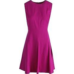 Lauren Ralph Lauren Womens Petites Sleeveless Wear to Work Dress Purple 8P