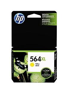 HP 564XL Yellow High Yield Original Ink Cartridge (CB325WN) by HP