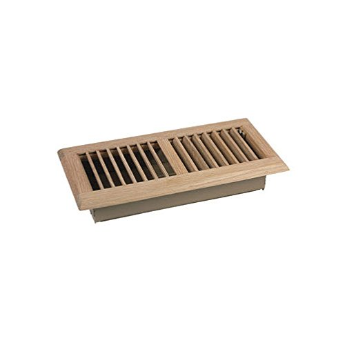 Ta Industries Floor Register 2 Way, Oak 4