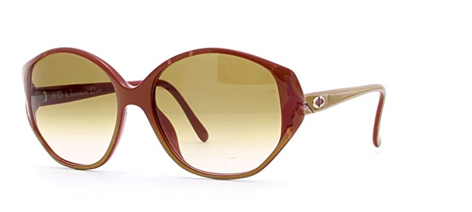 e2832150420 Image Unavailable. Image not available for. Color  Christian Dior 2384 10  Brown Authentic Women Vintage Sunglasses