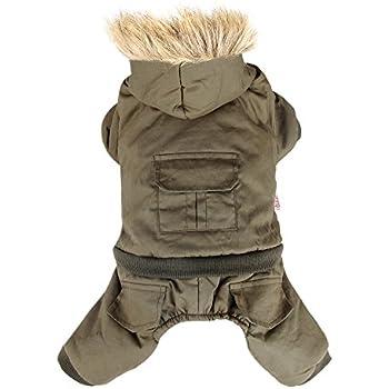 Amazon.com : LESYPET Doggie Puppy Coat Vest Pet Ski Vest