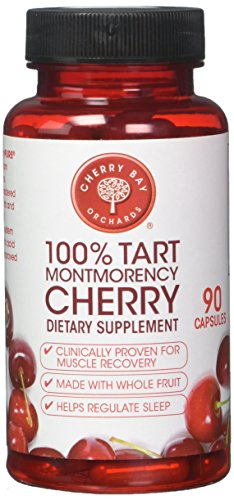 CHERRY BAY ORCHARDS Cherrypure 100% Tart Cherry 90 Capsules, 0.02 Pound ()